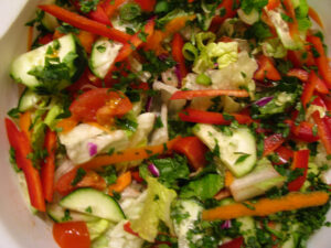 Ízletes saláták